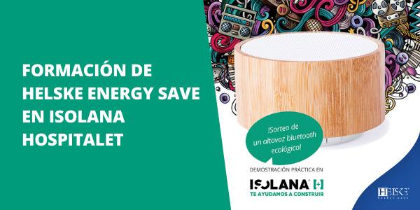 Formación para profesionales de Helske Energy Save en ISOLANA HOSPITALET