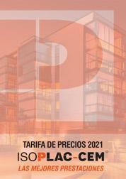 Tarifa ISOPLAC CEM - Placas de cemento