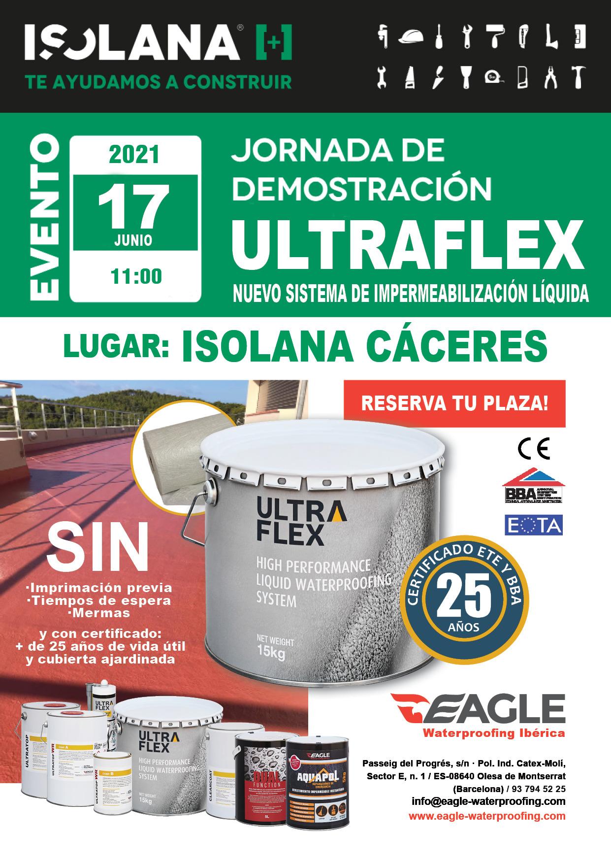 Training Day de Ultraflex en ISOLANA CÁCERES