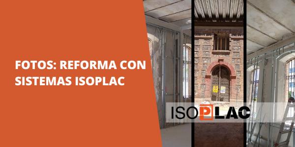Reforma de la Cárcel vieja de Murcia con SISTEMAS ISOPLAC