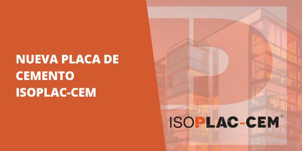 Placa de Cemento - ISOPLAC CEM
