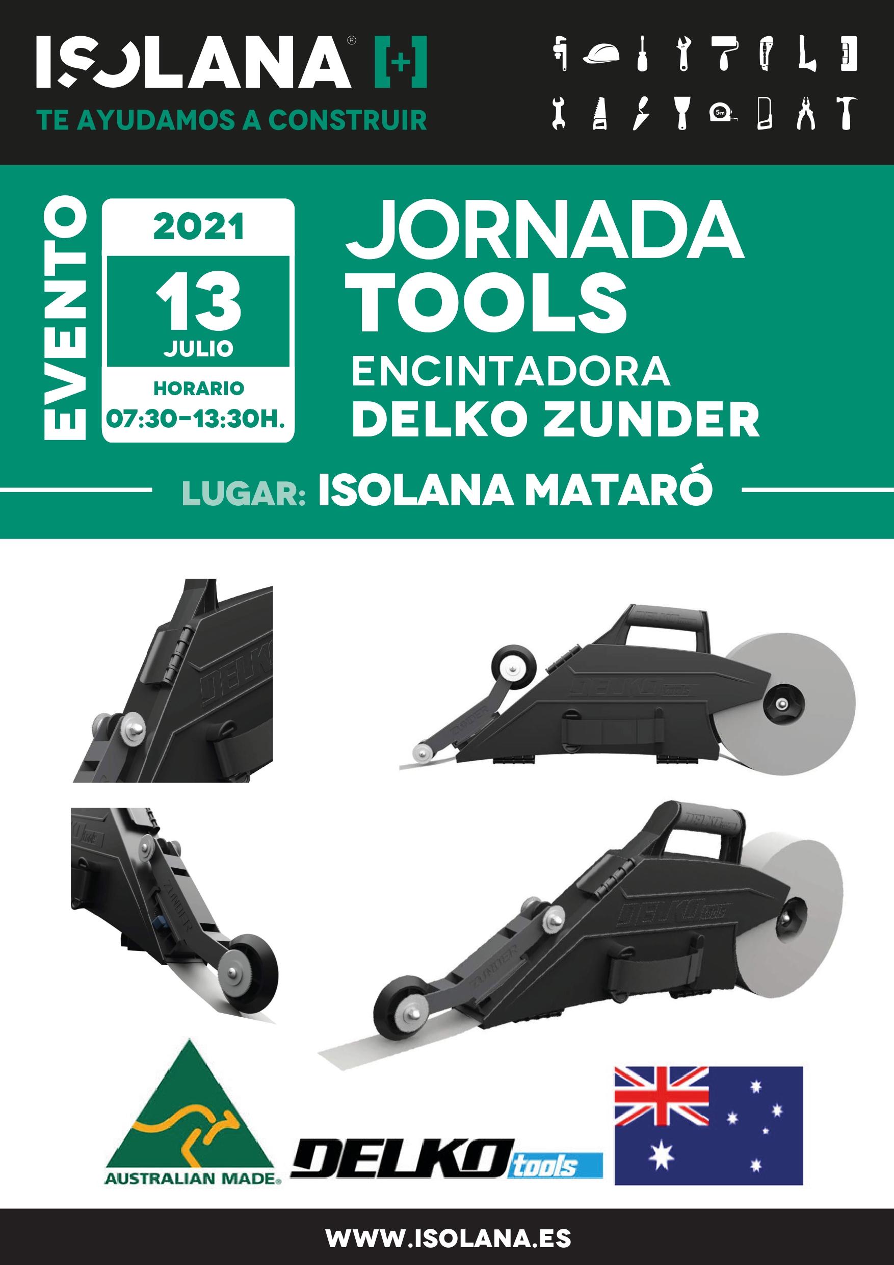 Demostración herramientas en ISOLANA MATARÓ