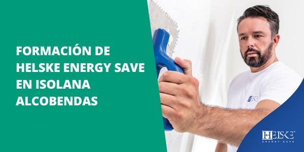 Formación para profesionales de Helske Energy Save en ISOLANA ALCOBENDAS