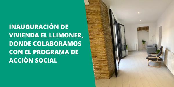 Inauguración de Vivienda El Llimoner